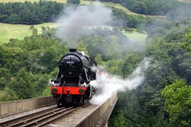 Trenini a vapore del Galles