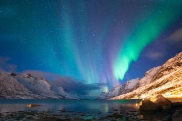 Islanda e aurora boreale