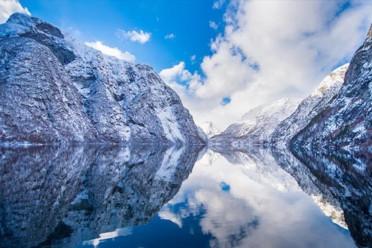I Fiordi in inverno